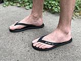 Чоловічі в'єтнамки, пляжне взуття Rider Бразилія чорні, фото 2