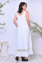 Платье  БАТАЛ в расцветках  кружево 64343.1, фото 3