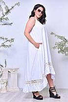 Платье  БАТАЛ в расцветках  кружево 64343.1, фото 2