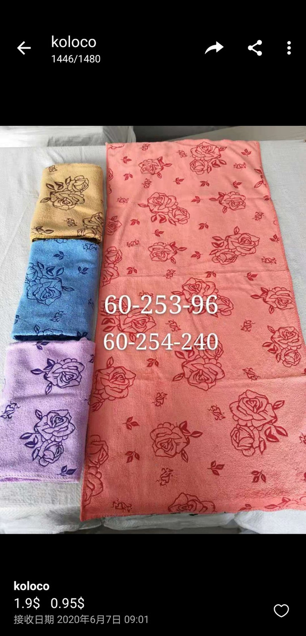 Кухонное полотенце микрофибра в ассортименте 35х70