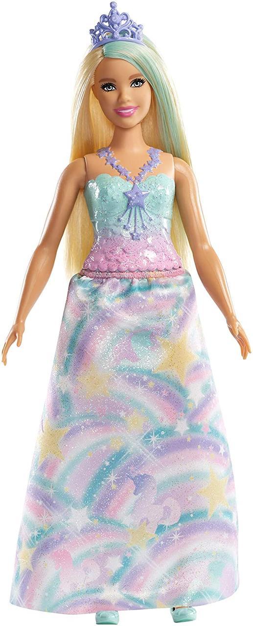 Кукла Барби Принцесса в радужном наряде Оригинал (FXT14)
