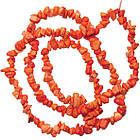 Сколы Говлит Коралловый Мелкие Размер 4-9*2-5мм, Около 78 см нить, Бусины Натуральный Камень, Бусы, Бусинки, фото 2