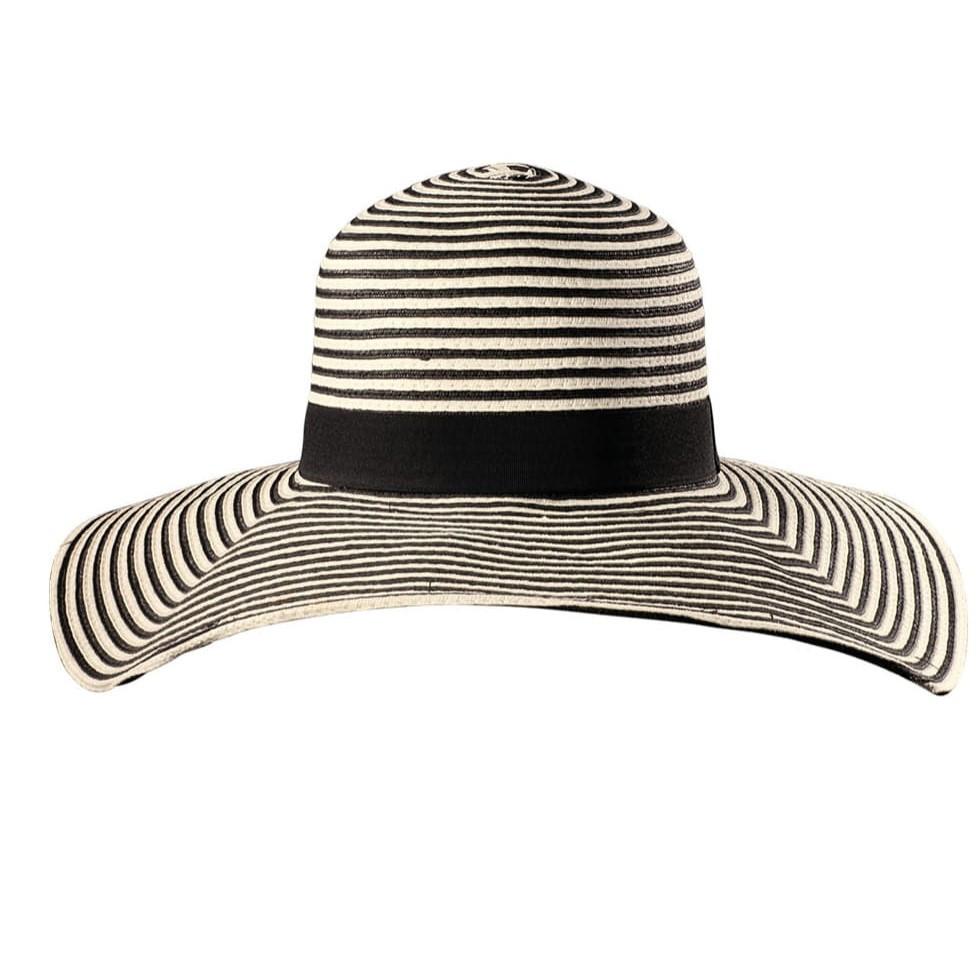 Капелюх широкополий жіночий пляжний смугастий Feba F65/KAP18/UNIVER