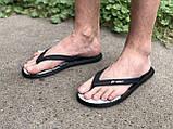 Мужские вьетнамки, пляжная обувь Rider Бразилия черные с синим, фото 2
