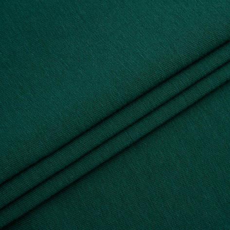 Футер двунитка Лето 50/50 темно зеленый, фото 2
