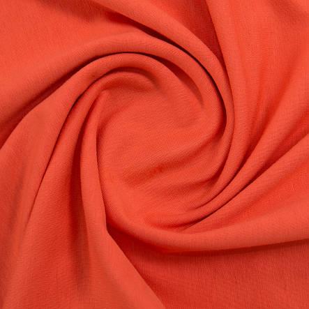Футер двунитка Лето 50/50 оранжевый, фото 2