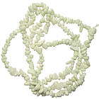 Сколы Агат Белый Мелкий, Размер 4-8*3-5 мм, Около 85 см нить, Бусины Натуральный Камень, Фурнитура, фото 2