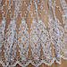Тюль в зал, в спальню,белый цвет гардины и вышивки кордовой нитью, фото 8