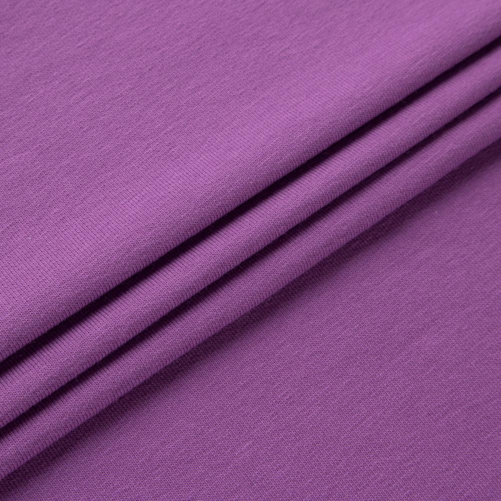 Футер двунитка Лето 50/50 фиолетовый