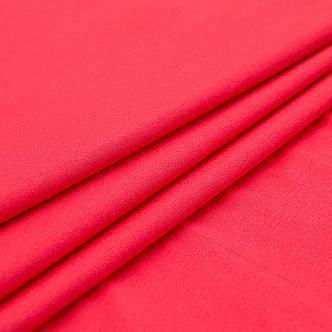 Ткань трикотажная Вискоза красный, опт от рулона, купить вискозу в Украине, фото 2