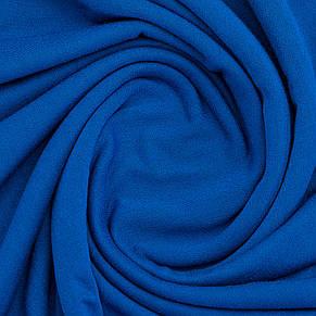 Тканина трикотажна Віскоза синій, опт від рулону, купити віскозу в Україні, фото 2