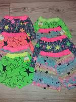 Шорти кольорові для дівчаток  80-86,92-98,104-110,116-122
