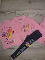 Спортивний костюм Likee трійка у 3-х кольорах на вік 3-4  роки