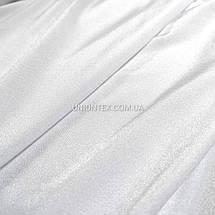 """Трикотаж бифлекс """"купальник"""" блестящий белый, фото 3"""