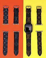Ремешок Louis Vuitton для Apple Watch эко-кожа (реплика) 38/40mm