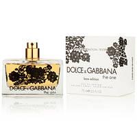 Dolce & Gabbana The One Lace Edition EDP 75ml TESTER (парфюмированная вода Дольче Габбана Зе Ван Лейс Эдишн тестер)