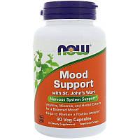 Now Foods, Mood Support (90 капс.), витамины для нервной системы