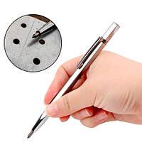 Ручка чертилка по металлу стеклу разметочная, вольфрамовый наконечник