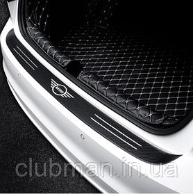 Карбоновые накладки наклейки для багажника  MINI Cooper One S R50 R53 R56 R60 F55 F56 бампер
