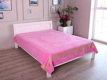 Махровое покрывало (Пике) Розовый