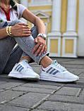 Женские кроссовки Commonwealth adidas Consortium ZX 500 в стиле адидас коммонвелс белые (Реплика ААА+), фото 5