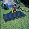 Односпальний надувний матрац Intex 99x191x25 см (64757) потовщений, фото 3