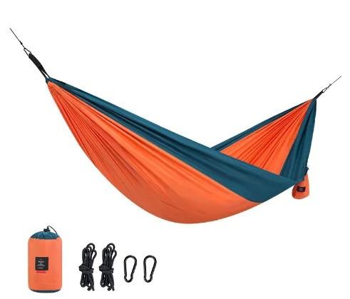 Гамак Naturehike 340T polyester 1-місний NH17D012-C помаранчевий (NH)