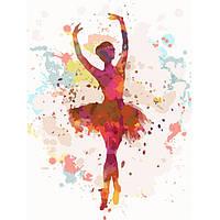 Набор для творчества «Картины по номерам– «Балерина 2» 30*40см., фото 1