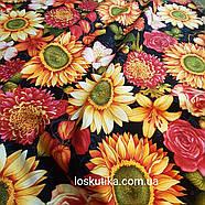 56010 Премиум цветение. Ткань с изображением цветов. Прованс., фото 2