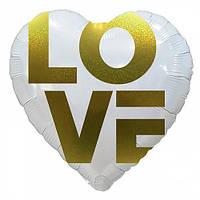 Фольга 45см. ,Love, арт. AS-182