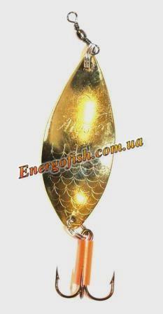 Блесна колебалка Triada Alga 2s 18g Gold