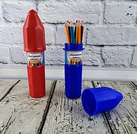 Пенал Пластиковый Карандаш 13823Ф Синтез Украина