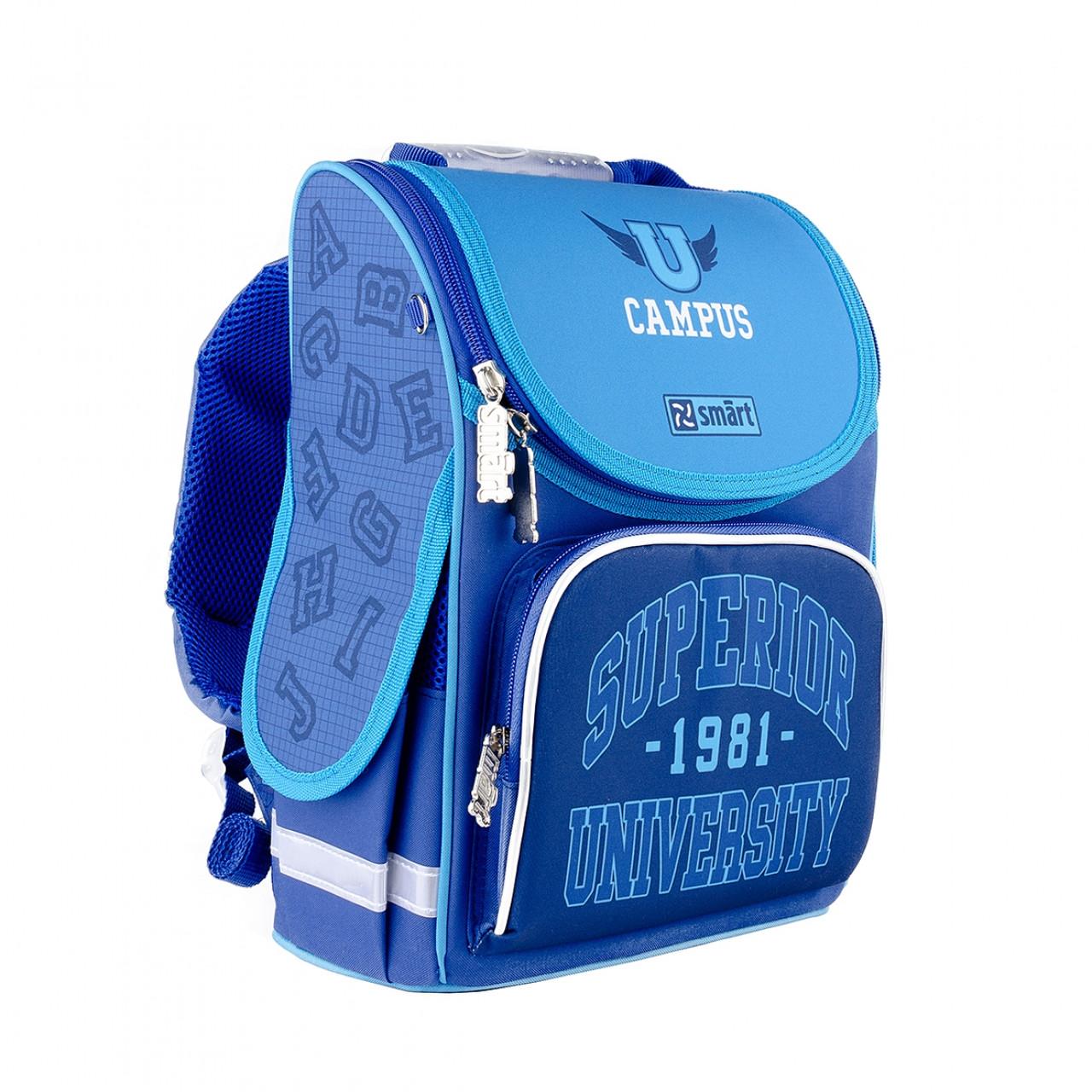 Рюкзак школьный каркасный SMART PG-11 Campus