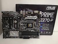 Материнская плата ASUS Z270-P s1151 Intel z270 бу