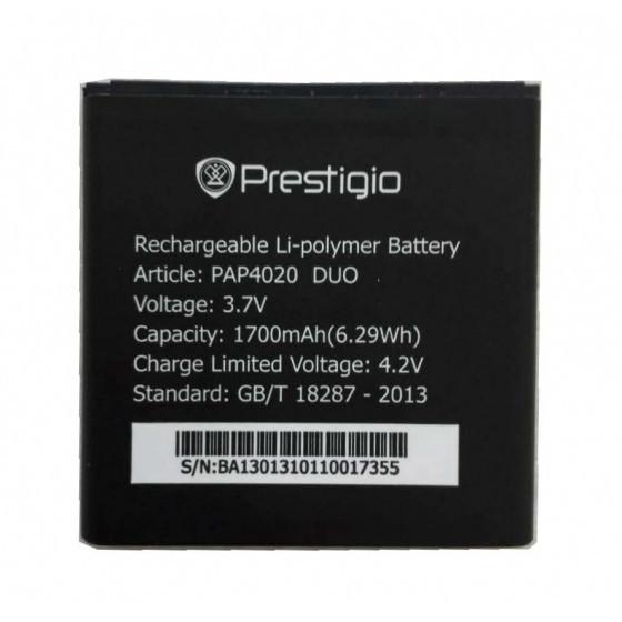 Аккумулятор акб ориг. к-во Prestigio 4020 Duo PAP4020 | 3500, 1700mAh