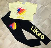 """Подростковый костюм для девочки """"Likee"""" размер 8-14 лет, цвет уточняйте при заказе, фото 1"""