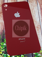 Стекло задней крышки для Apple iPhone XR, 10R, красное