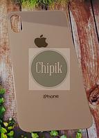 Стекло задней крышки для Apple iPhone XS, 10S, золотое