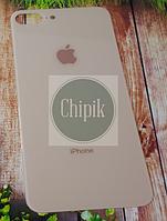 Стекло задней крышки для Apple iPhone 8 Plus, золотое Orig