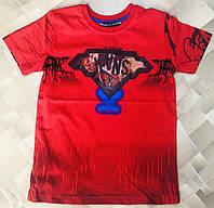 """Детская футболка для мальчика """"Jeans"""" 5-8 лет, цвет уточняйте при заказе, фото 1"""