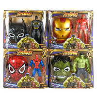 Игровой набор герои Marvel код 83816 герои+маска, 5 видов, в кор. 33*9*33,5см