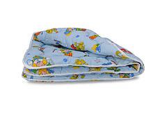 Одеяло Leleka-textile Оптима детское 105*140 см бязь/холлофайбер особо теплое БД99