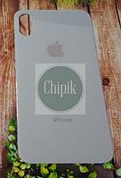 Стекло задней крышки для Apple iPhone XS, 10S, белое