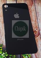Стекло задней крышки для Apple iPhone XR, 10R, черное