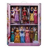 Disney Подарочный набор классических кукол принцессы Диснейя 11 шт deluxe disney princess classic dolls gift, фото 2
