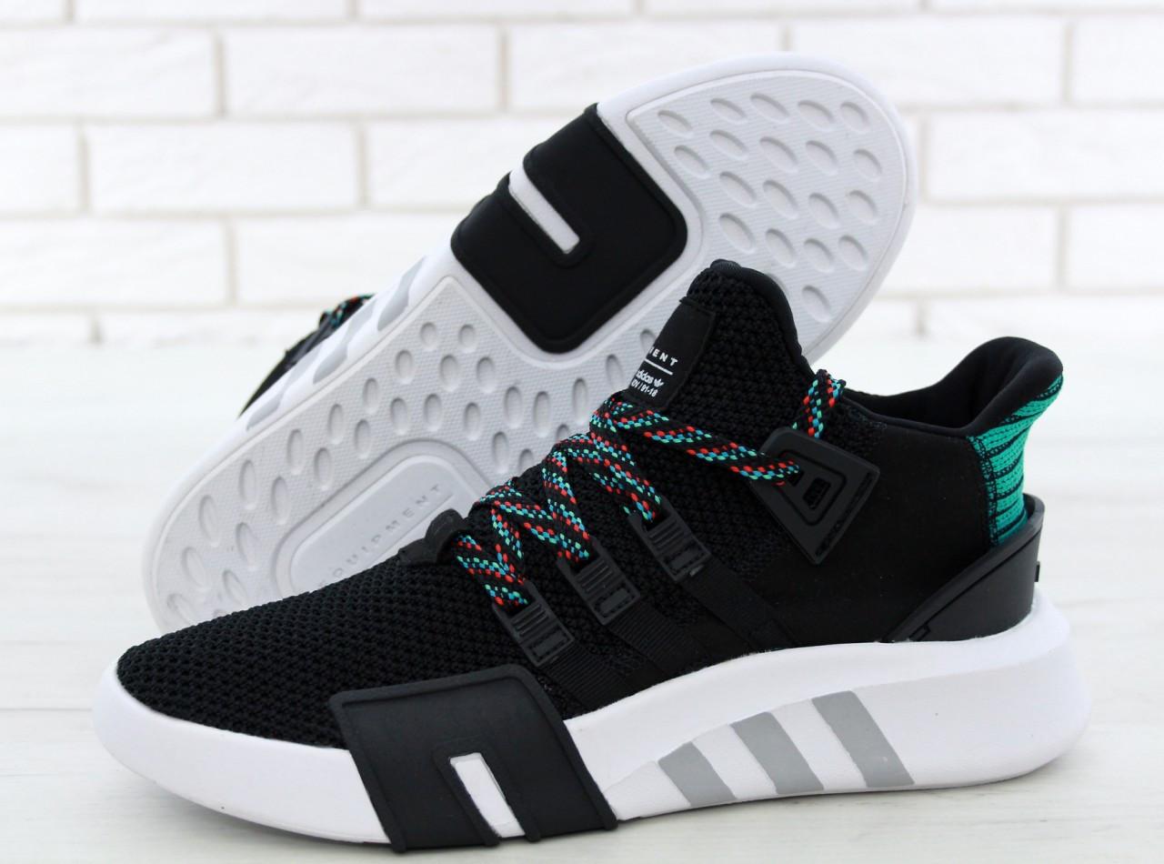 Чоловічі кросівки Adidas EQT Bask ADV (чорно-білі) 11591
