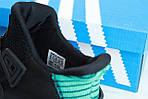 Чоловічі кросівки Adidas EQT Bask ADV (чорно-білі) 11591, фото 5