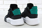 Чоловічі кросівки Adidas EQT Bask ADV (чорно-білі) 11591, фото 9