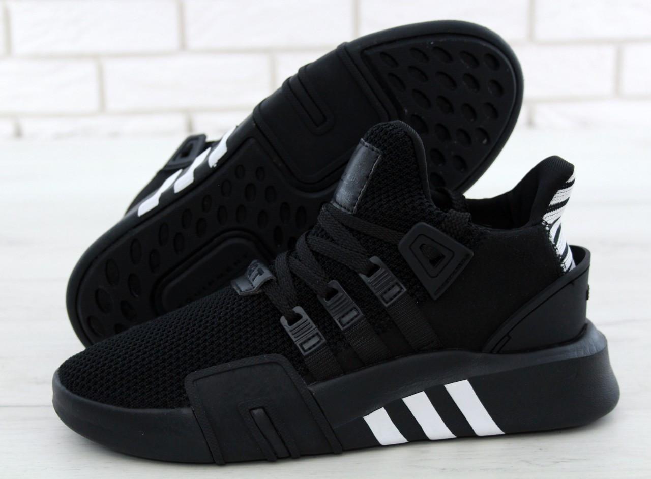 Чоловічі кросівки Adidas EQT Bask ADV (чорні) 11590