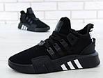 Чоловічі кросівки Adidas EQT Bask ADV (чорні) 11590, фото 5